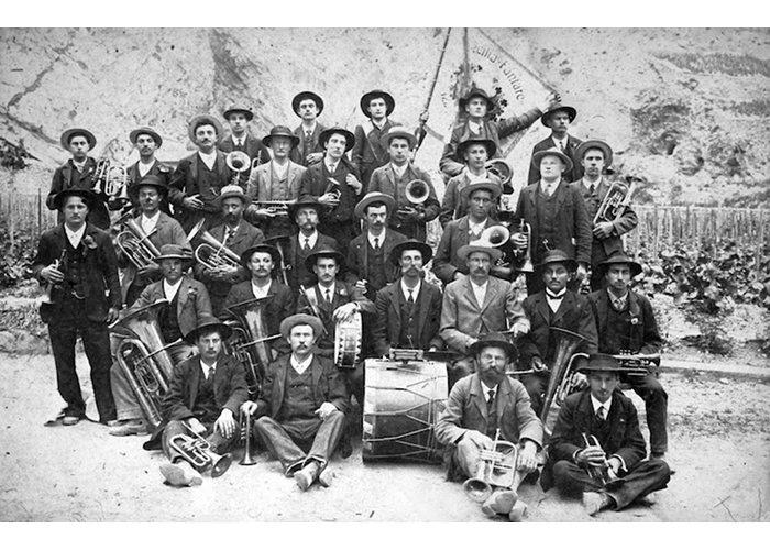 La fanfare en 1880
