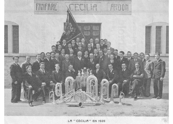 La fanfare en 1939