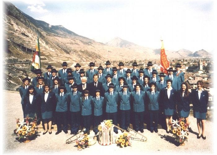 La fanfare en 1995
