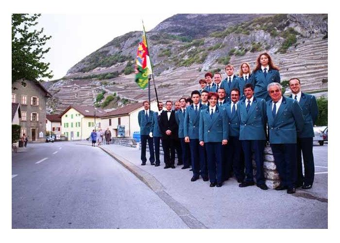 La fanfare en 2002
