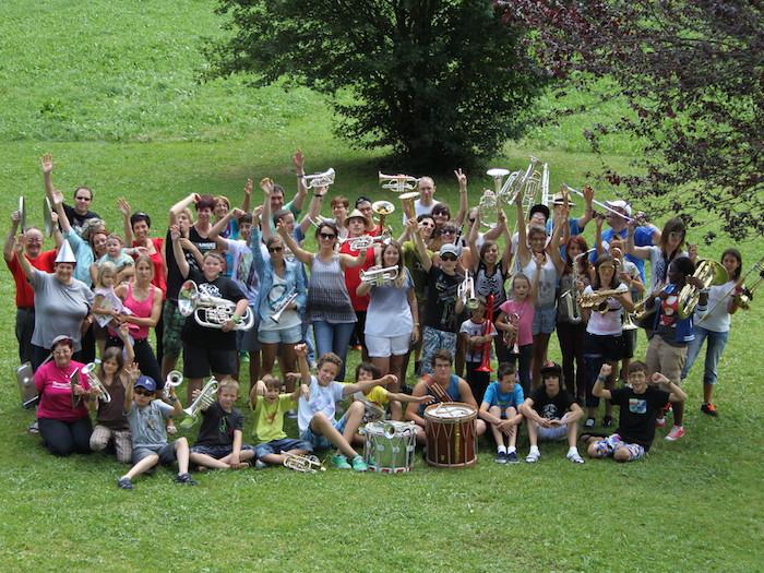 Camp musical, Abondance 2013