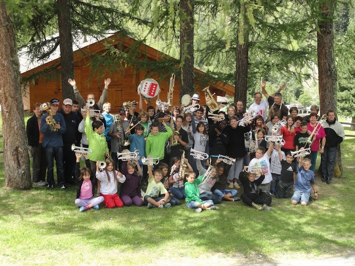 Camp musical, Zinal 2011